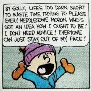 lifes too darn short – calvin