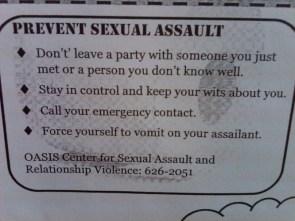 prevent sexual assult