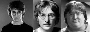 three people – three faces