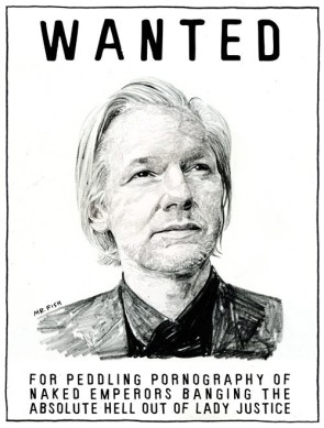 wanted – for peddling pornography of naked emperors