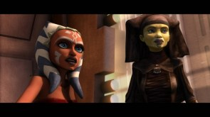 Ahsoka Tano and jedi Master