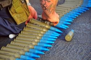 blue bullets