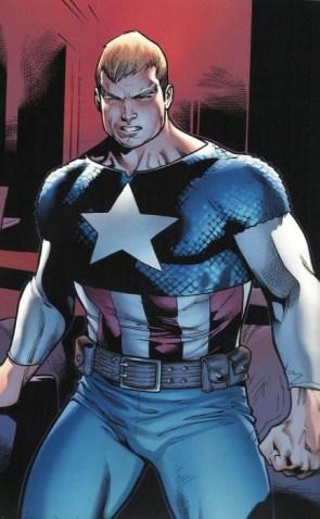 captain america is blonde