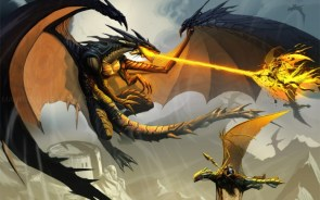 dragon vs wing riders
