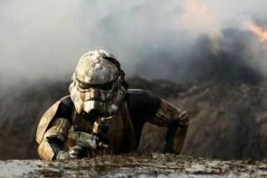 muddy storm trooper
