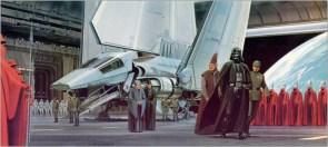 star wars landing concept art