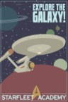 starfleet academy recruitment poster