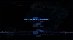 welcome back, commander
