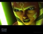 Ahsoka Tano – green laser sword thing
