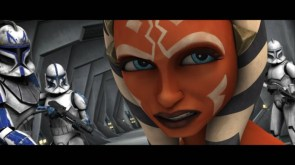 Ahsoka Tano with arc troopers