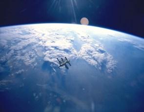 ISS in orbit