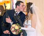 assault rifle wedding