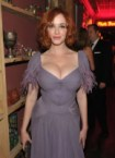 christina hendricks purple front