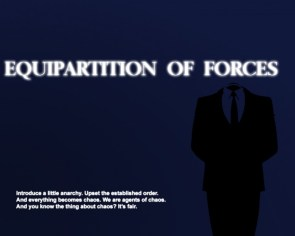 equipartition of forces