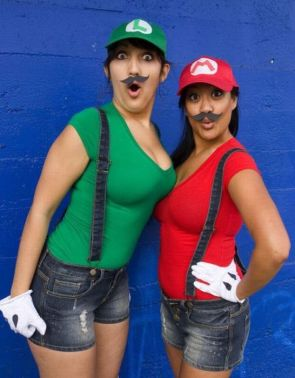 female mario and lugi