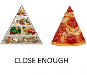 food groups – close enough
