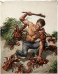 lobster fight