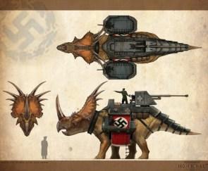 nazi triceritops
