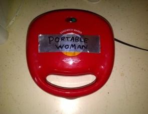 portable woman