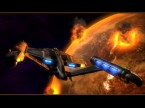 star trek ship around exploding planet