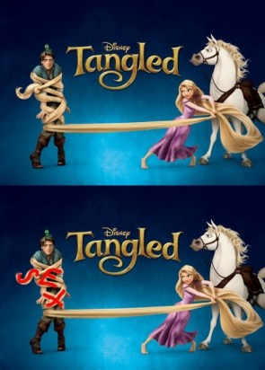 tangled cannot be unseen