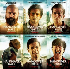 the hangover 2 posters