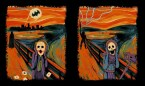 the scream – batman and he-man