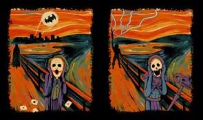 the scream – batman and he-man