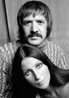 Cher and Sonny Bono 1971