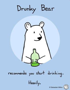 Drunky Bear