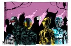 R2D2 Daft Punk C3PO Tron