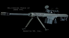 baretta 50 cal – delivering peace at 2800 FPS