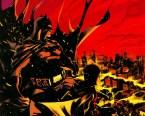 batman and robin watch gotham burn