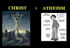 christ vs atheism