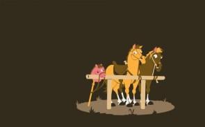 fake pony