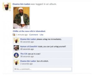osama bin laden was tagged in an album