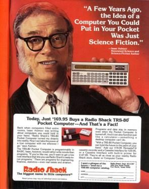 isaac asimov – pocket computer