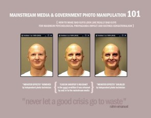 mainstream media and government photo manipulation 101