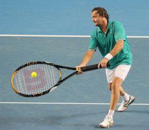 massive tennis racket