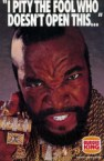 pity the fool – burger king