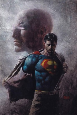 superman is stripping down