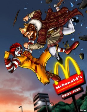 the king vs ronald