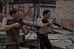 walking dead – crossbow and shotgun