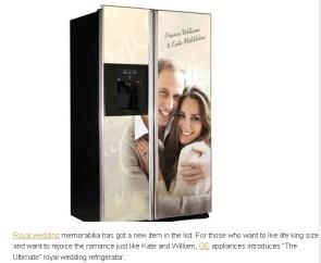 wedding fridge