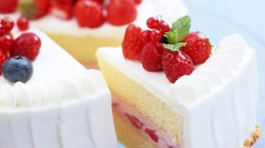yummy strawberry cake