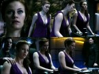 Cassidy Freeman – Smallville – purple dress