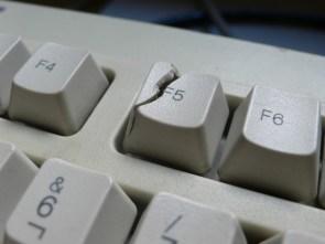 broken f5 button