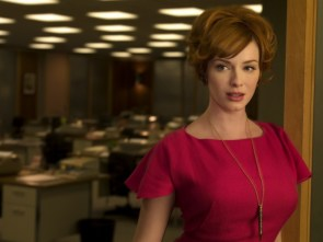 christina hendricks in red