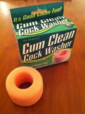 cum clean cock washer