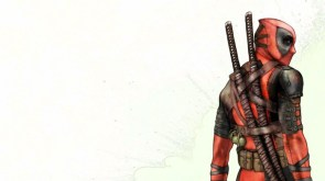 deadpool – over the shoulder